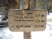 TrailHead Communications sign